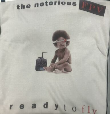 Ready To Fly T Shirt White L