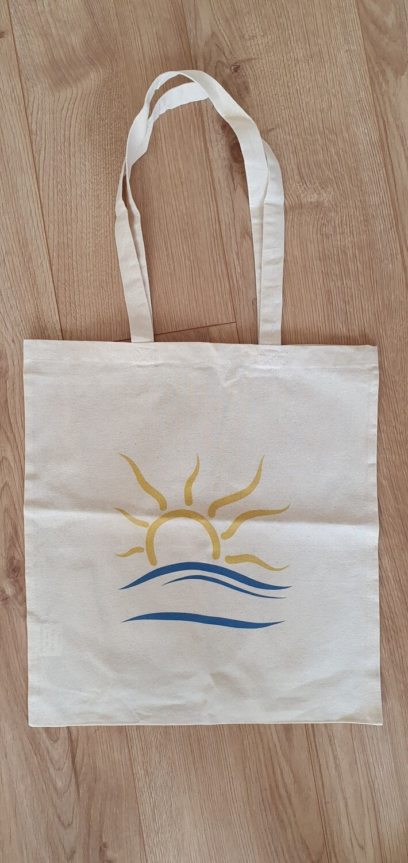 Naturist Symbol Bag Canvas Tote Bag