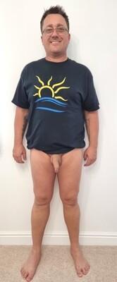 Naturist Symbol T-shirt Men's