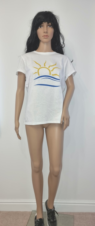 Naturist Symbol T-shirt Womens