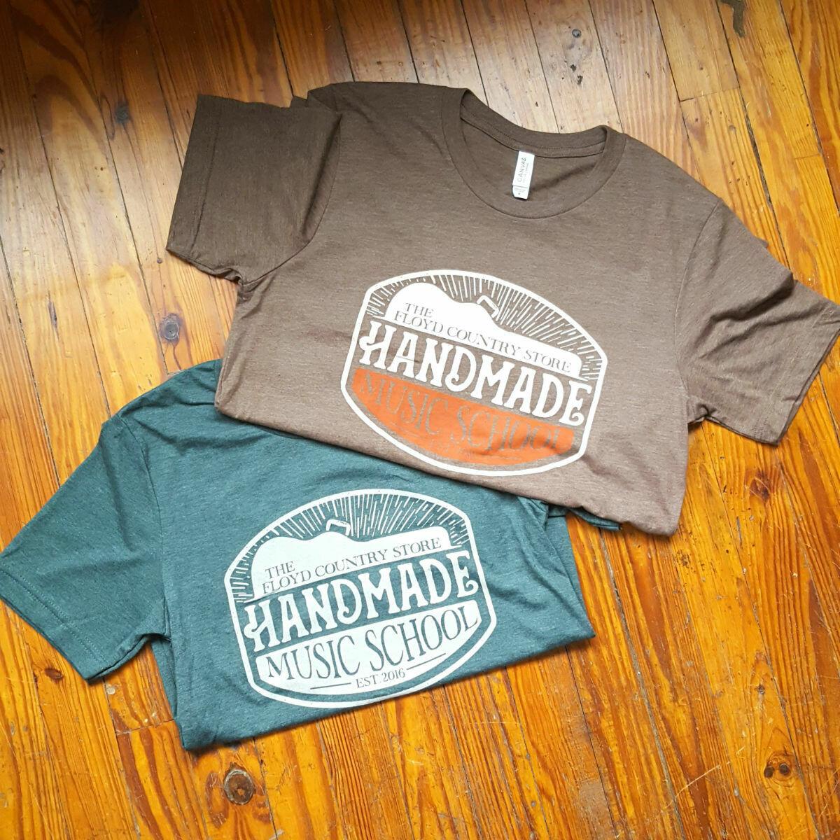 Handmade Music School Short Sleeve T-Shirt