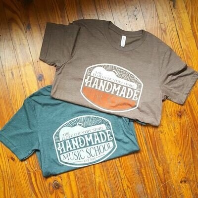 Handmade Music School Short Sleeve T-Shirt