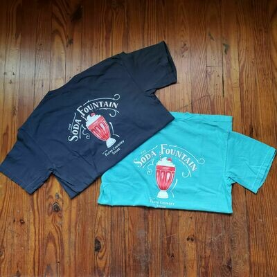 Soda Fountain Short Sleeve T-Shirt
