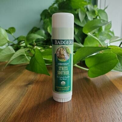 Badger Stress Soother Portable Aromatherapy