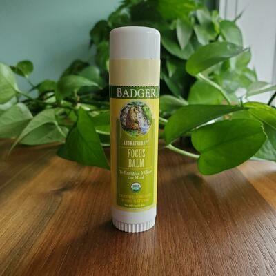 Badger Focus Balm Portable Aromatherapy