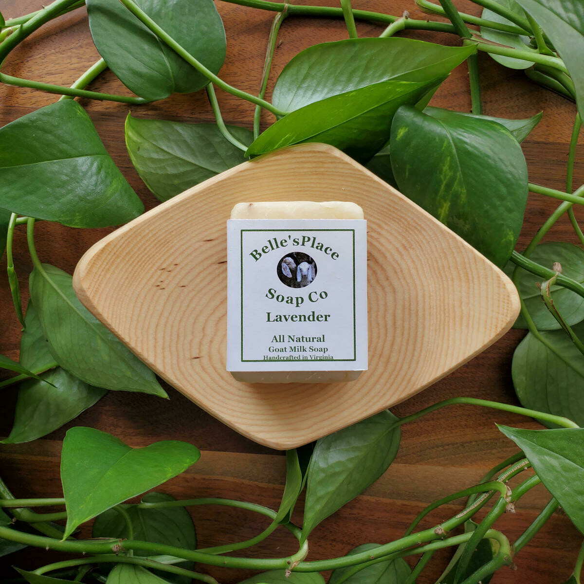 Belle's Place Soap Co. All-Natural Goat Milk & Shea Butter Soap