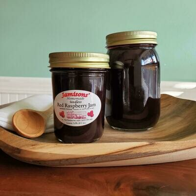 Jamisons' Homemade Seedless Red Raspberry Jam