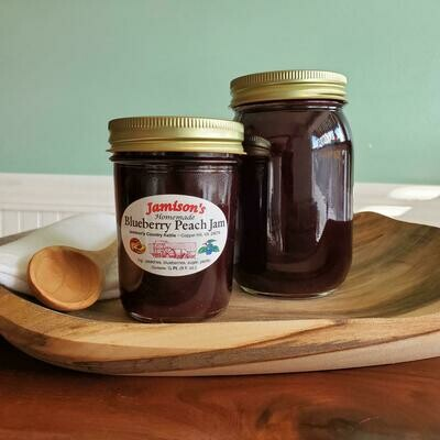 Jamisons' Homemade Blueberry Peach Jam