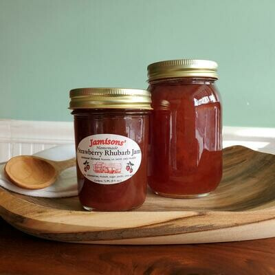 Jamisons' Homemade Strawberry Rhubarb Jam
