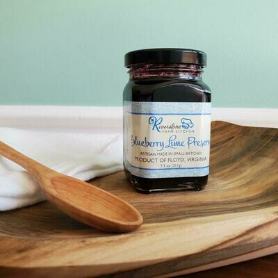 Riverstone Blueberry Lime Preserves