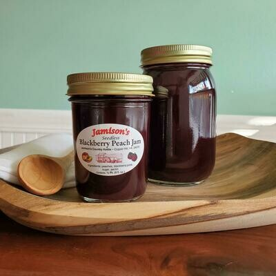 Jamisons' Homemade Seedless Blackberry Peach Jam