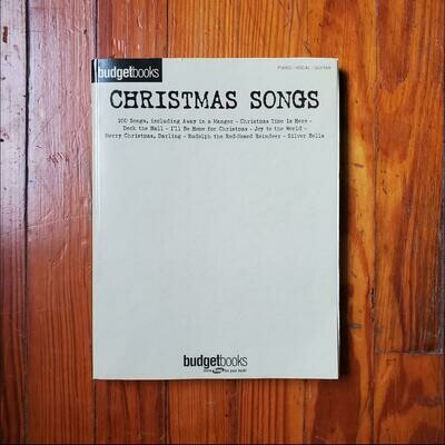 Christmas Songs by: Budget Books