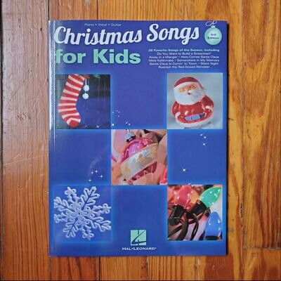 Christmas Songs for Kids 3rd Edition by: Hal Leonard