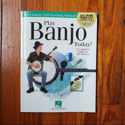 Play Banjo Today! All-In-One Beginner's Pack by: Hal Leonard
