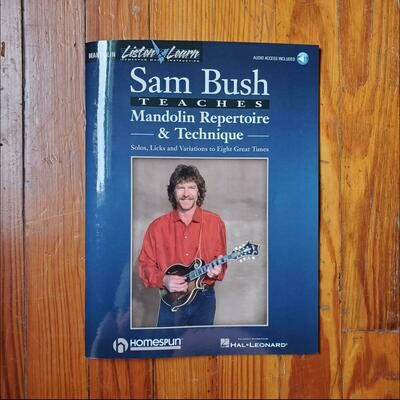 Sam Bush Teaches Mandolin Repertoire & Technique by: Homespun