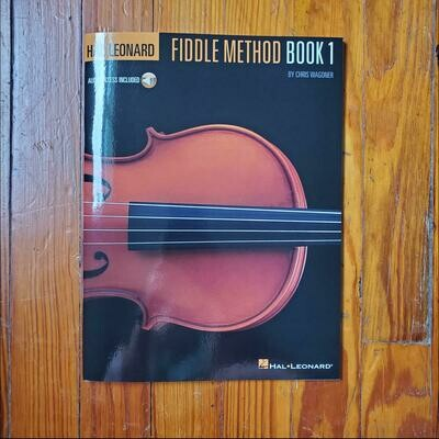 Fiddle Method Book 1 by: Hal Leonard