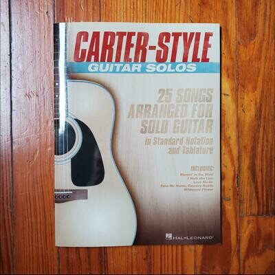 Carter-Style Guitar Solos by: Hal Leonard