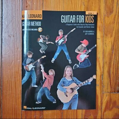 Guitar for Kids by: Hal Leonard