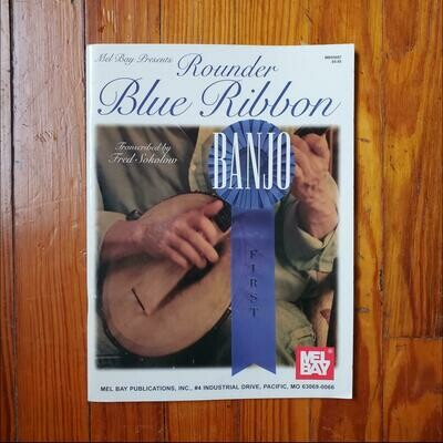 Rounder Blue Ribbon Banjo by: Fred Sokolow