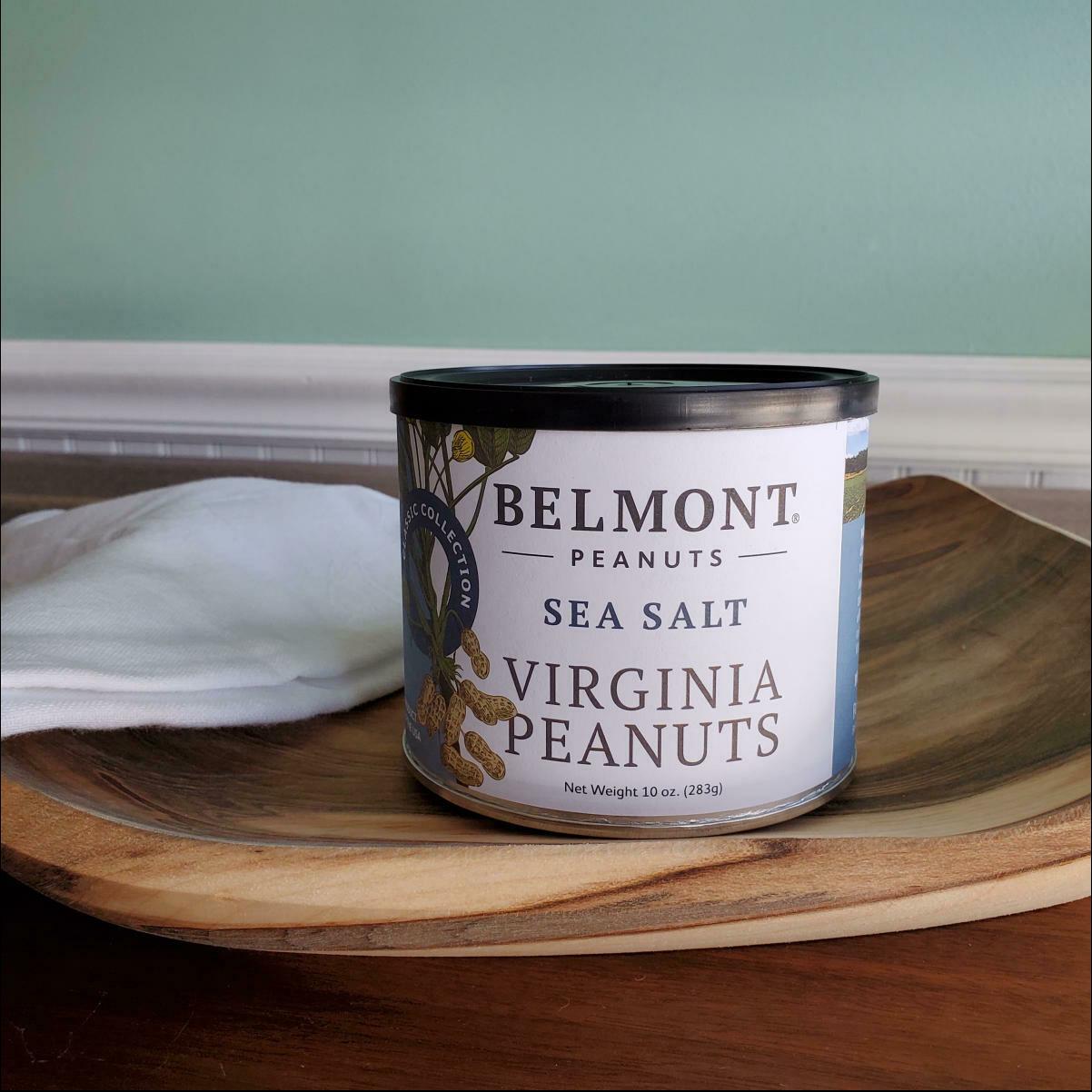 Belmont Peanuts Sea Salt