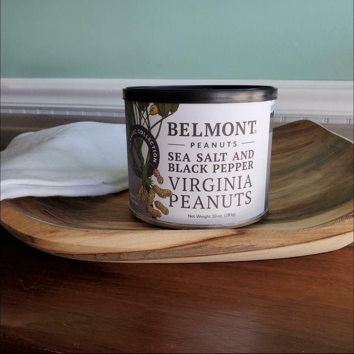 Belmont Peanuts Sea Salt and Black Pepper