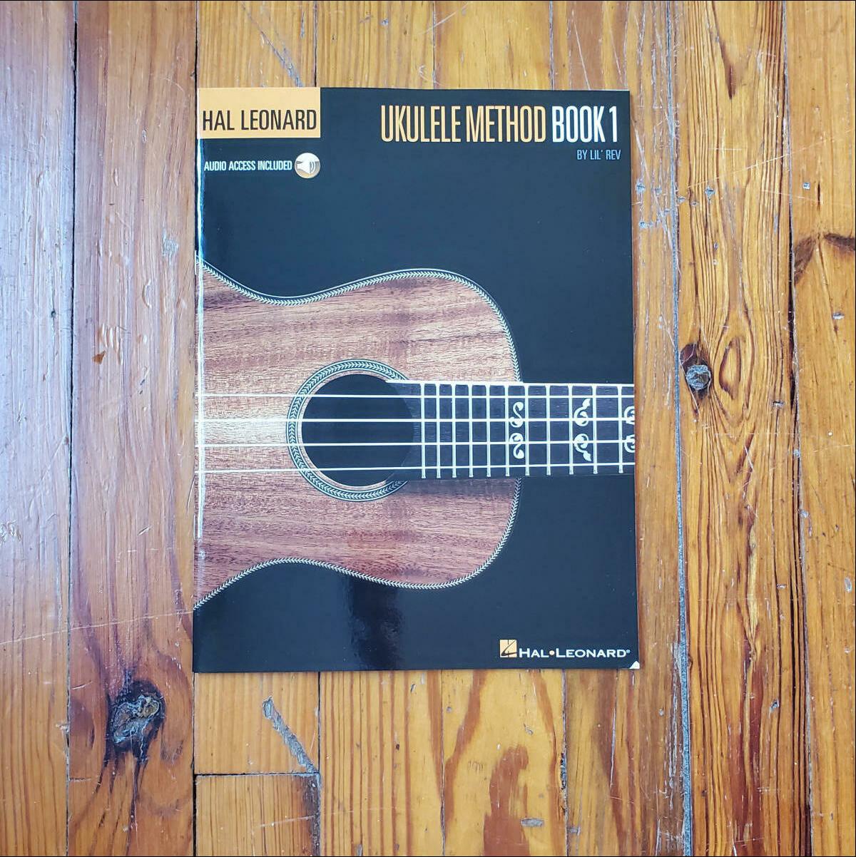 Ukulele Method Book 1 by: Lil' Rev