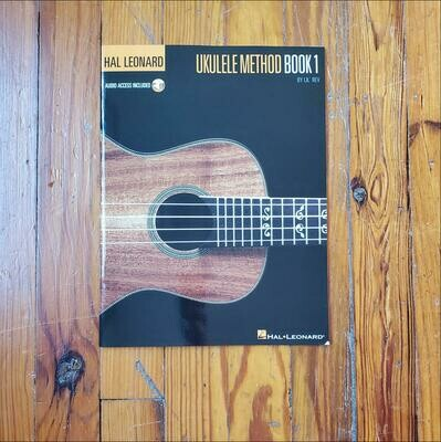 Ukulele Method Book 1 by: Lil' Rev