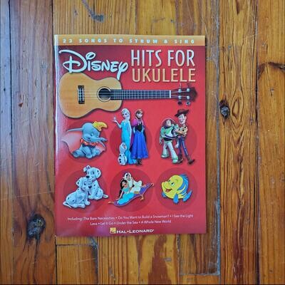 Disney Hits for Ukulele by: Hal Leonard
