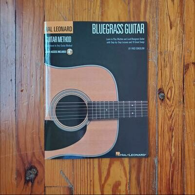 Bluegrass Guitar Method by: Fred Sokolow