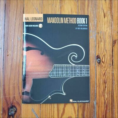 Mandolin Method Book 1 by: Rich DelGrosso