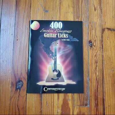 400 Smokin' Bluegrass Guitar Licks by: Eddie Collins