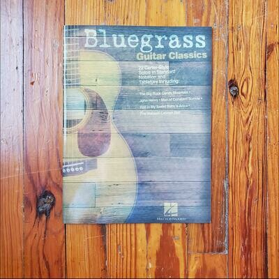 Bluegrass Guitar Classics by: Hal Leonard