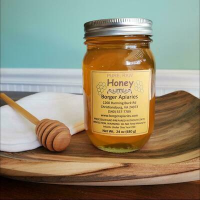 Borger Apiaries Honey 24 oz