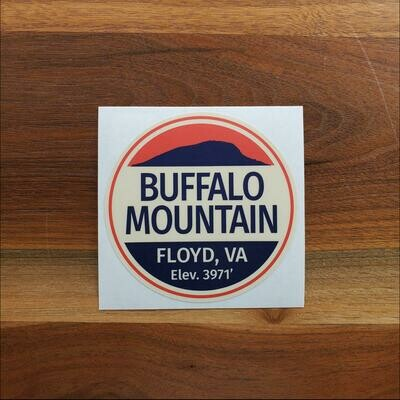Buffalo Mountain  Sticker