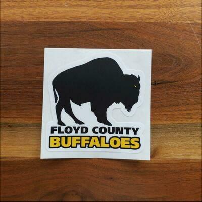Floyd County Buffaloes Sticker