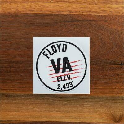 Floyd, VA Postmark Sticker