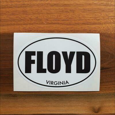 Floyd, Virginia Oval Sticker