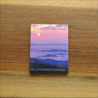 Blue Ridge Parkway Sunset Magnet