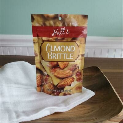 Hall's Almond Brittle 3.5 oz