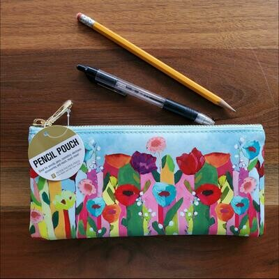 Peter Pauper Press Brilliant Floral Pencil Pouch