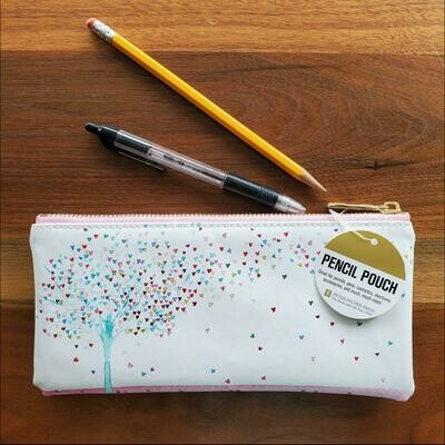 Peter Pauper Press Tree Of Hearts Pencil Pouch