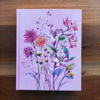 Peter Pauper Press Purple Wildflowers Journal