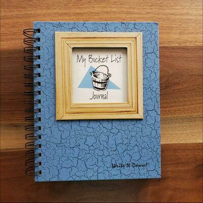 Journals Unlimited - My Bucket List Journal - Light Blue