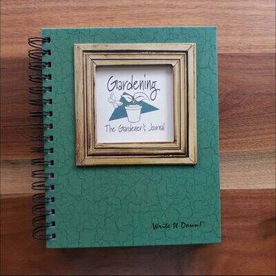 Journals Unlimited - Gardening Journal - Dark Green