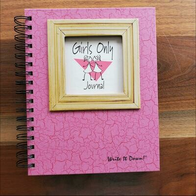 Journals Unlimited - Girls Only Journal - Pink