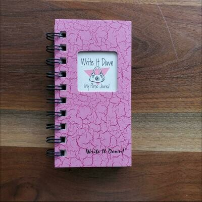 Journals Unlimited - My Purse Journal - Pink