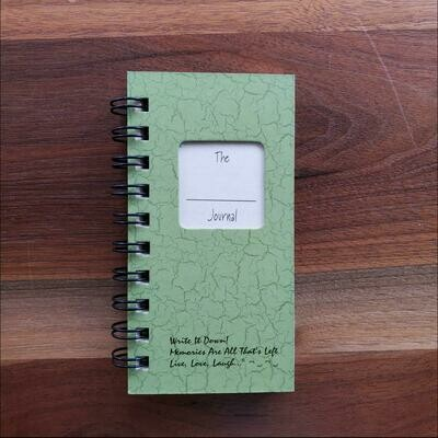 Journals Unlimited - The Blank Mini Journal - Avocado