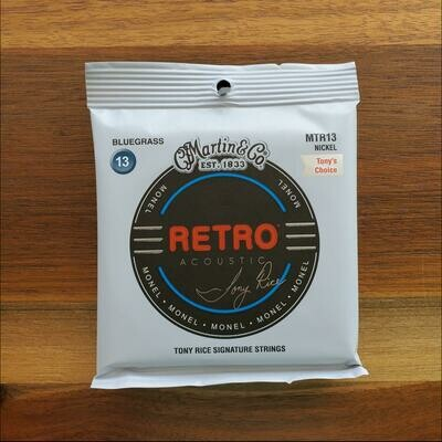 Martin Acoustic Guitar Strings Retro