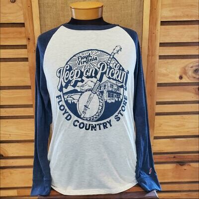 Keep On Pickin Baseball Long Sleeve Legacy