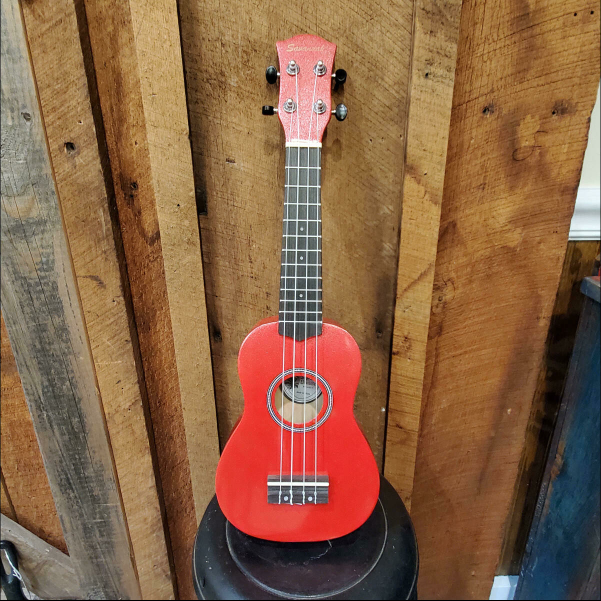 Savannah Red Ukulele